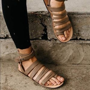 Musse & Cloud Valery leather sandals NWT
